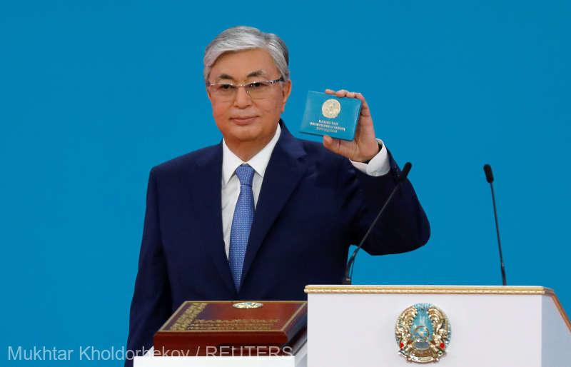 Președintele ales al Kazahstanului, învestit în funcție