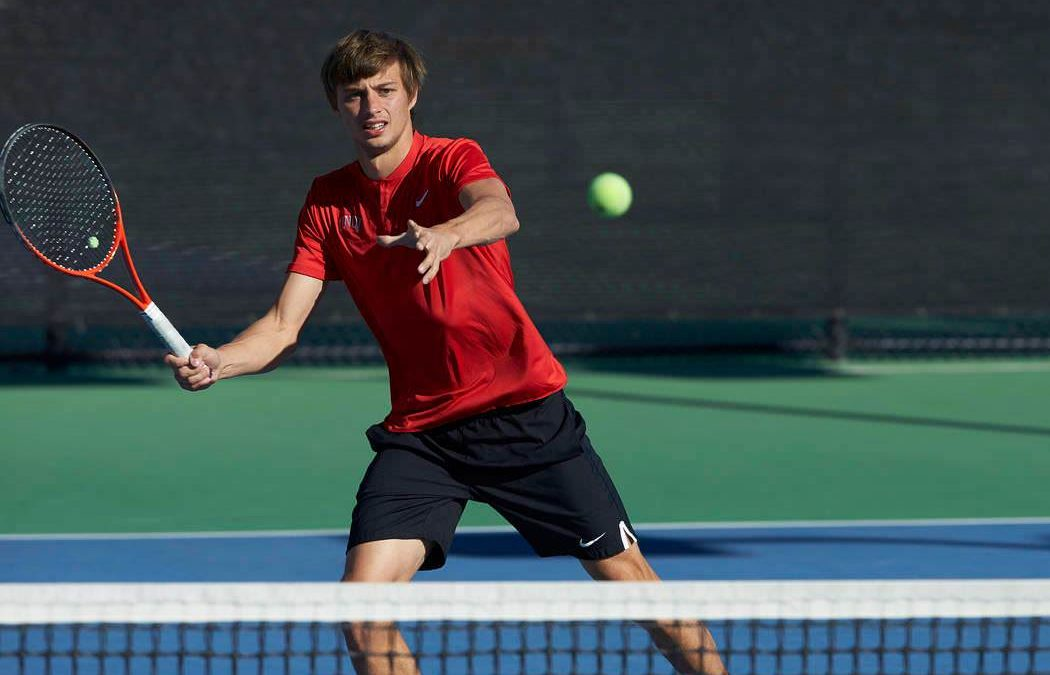 Alexandru Cozbinov, în semifinală la dublu la turneul internațional M15 Champaign, IL