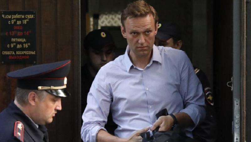 Aleksei Navalnîi și alți peste 50 de protestatari, arestați de polițiștii ruși