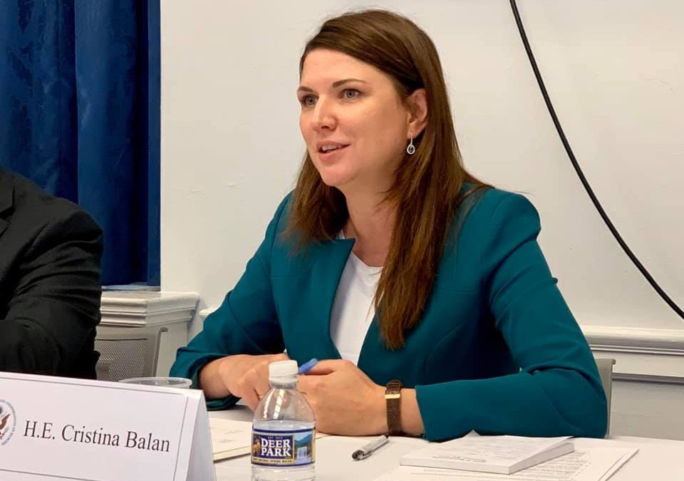 (DOC) Ministrul Popescu a rechemat-o pe ambasadoarea Republicii Moldova în SUA