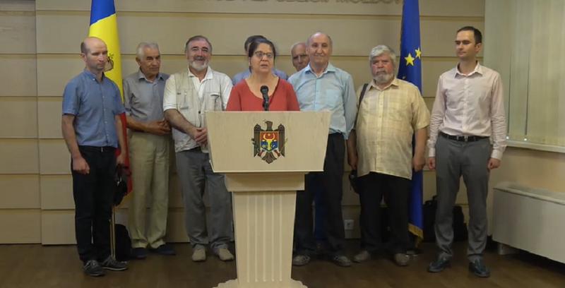(VIDEO) Profesorii de la UTM îndeamnă intelectualii să susțină Guvernul Sandu