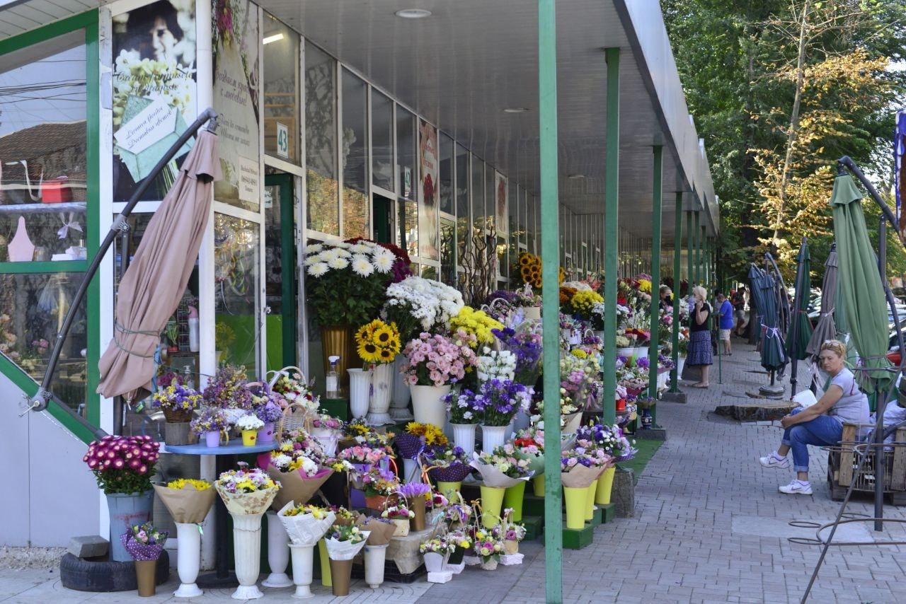 Piața de flori Bodoni