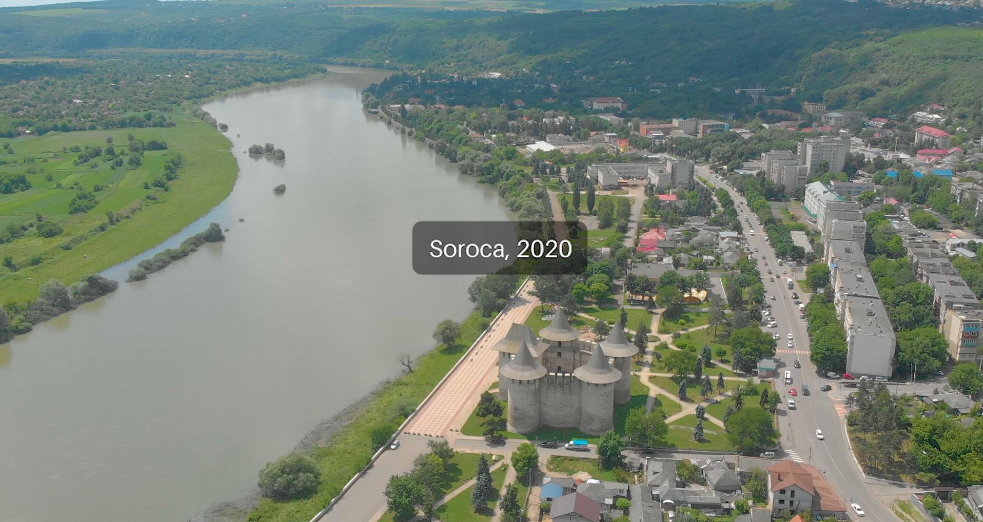 Orașul Soroca (nordul Republicii Moldova). FOTO: Ana Sârbu